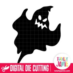 Halloween Scary Ghost - SVG Cut Files