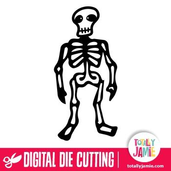 Halloween Skeleton Man