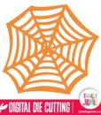 Halloween Spider Web 3 - SVG Cut Files