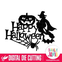 Halloween Spooky Title Decor - SVG Cut Files