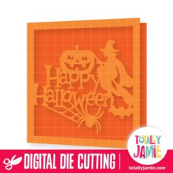 Halloween Spooky Title Decor Card - SVG Cut Files