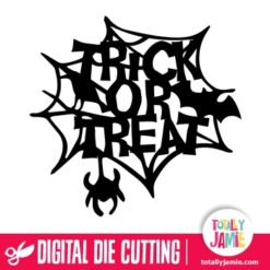 Halloween Trick Or Treat Spider Web Decor