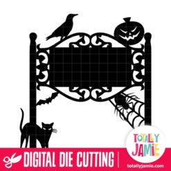 Halloween Vintage Sign Post - SVG Cut Files