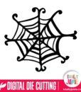 Halloween Whimsical Spider Web