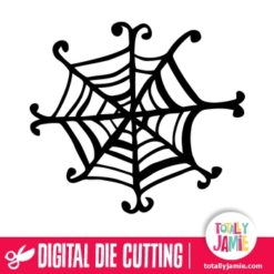 Halloween Whimsical Spider Web