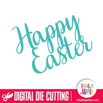 Happy Easter Handwritten Script