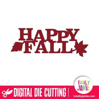 Happy Fall Title Decor