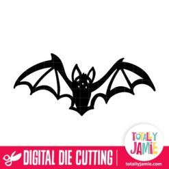 Happy Halloween Bats - SVG Cut Files