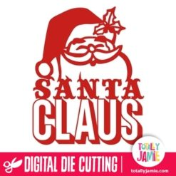 Happy Santa Claus Phrase