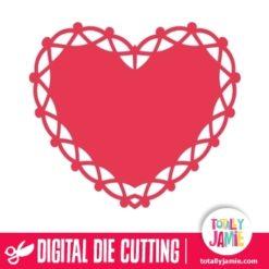 Heart Doily 1
