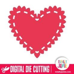 Heart Doily 2