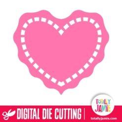 Heart Doily 3