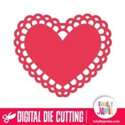 Heart Doily 4