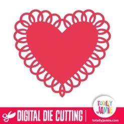 Heart Doily 5