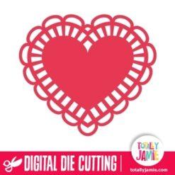 Heart Doily 6