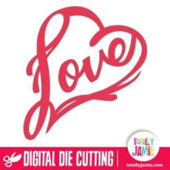Love Heart Flourish