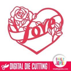 Love Heart Rose
