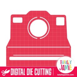 Polaroid Camera 1 - SVG Cut Files