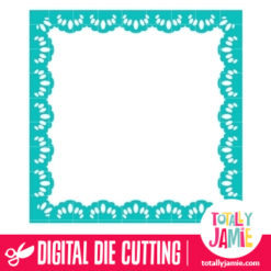 Reverse Square Doily - SVG Cut Files