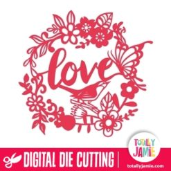 Romantic Garden Love Decor - SVG Cut Files