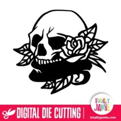 Skull Roses - SVG Cut Files
