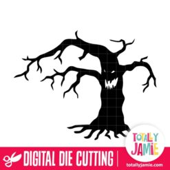 Spooky Halloween Tree - SVG Cut Files