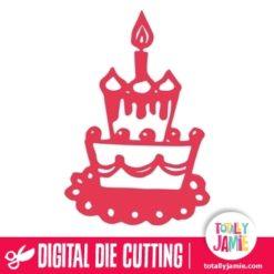 Tier Birthday Cake
