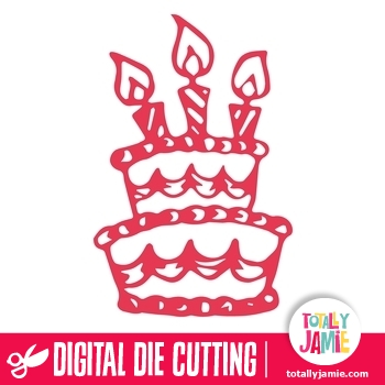 Tier Birthday Cake Candles