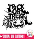Trick Or Treat Halloween Decoration