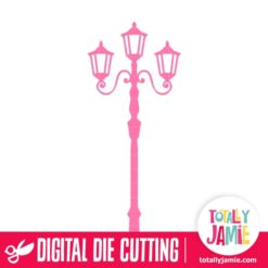 Vintage Lamp Post - SVG Cut Files