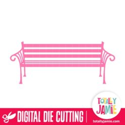 Vintage Park Bench - SVG Cut Files