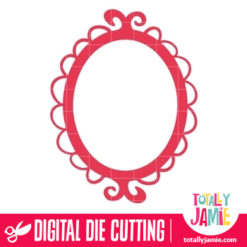 Whimsy Frame 1 - SVG Cut Files
