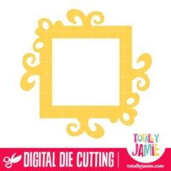 Whimsy Frame 2 - SVG Cut Files