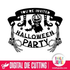 You Re Invited Halloween Party Banner