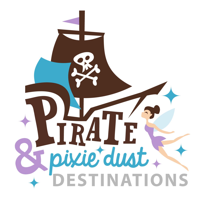 Pirate Pixie Dust Destinations Logo