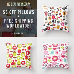 Society6 TotallyJamie Big Deal Wednesday Promotion